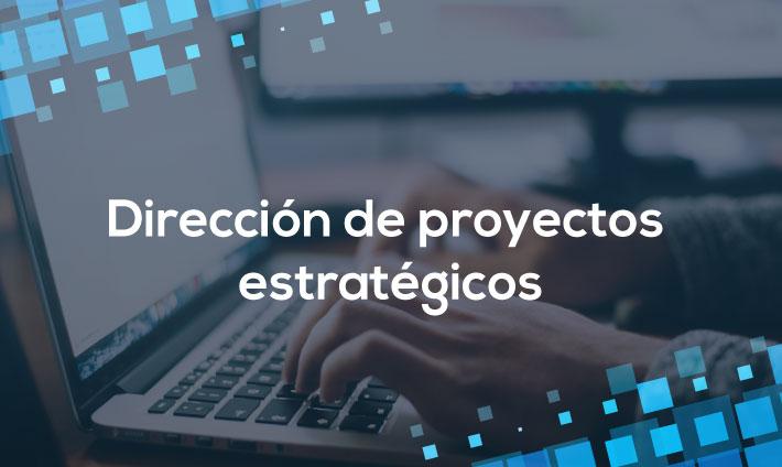 Dirección de proyectos estratégicos